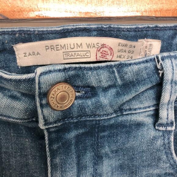Zara Premium Wash Skinny Jeans